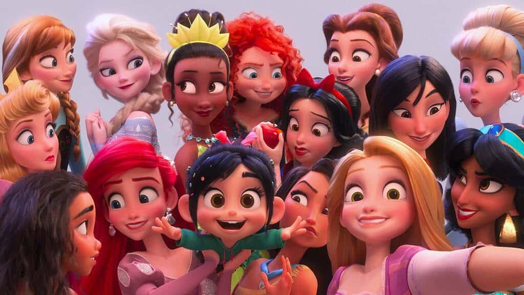 Disney Princesses Height