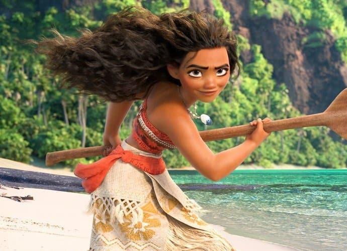 Hur lång är Moana i Disneyfilmen?